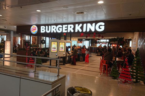 Burger King branch at the  International Airport